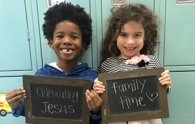 Celebrating Jesus and Family Time