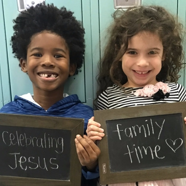 Celebrating Jesus and Family Time
